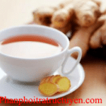 Công dụng của trà đen uống với gừng